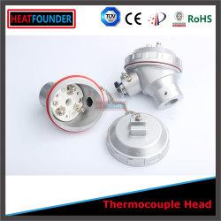La preuve de l'eau en aluminium de la tête de thermocouple