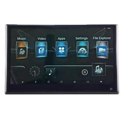 12.5 pulgadas de pantalla Android TV Monitor Car el sistema de entretenimiento trasero reposacabezas reproductor para diversión de viaje