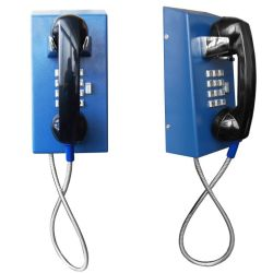 볼륨 컨트롤 버튼이 있는 견고한 안방 전화 교도소 방문 전화