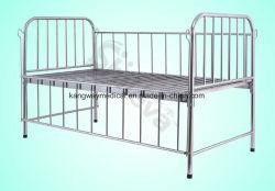 Het Medische Bed van het Roestvrij staal van de fabriek voor het Meubilair van het Ziekenhuis van de Kinderen van de Baby (slv-B4206S)