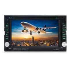 Doppio audio a distanza stereo CD dell'automobile dello schermo di tocco di BACCANO 6.2 di BACCANO 2 DVD MP5 Bluetooth