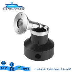 3W encastré en acier inoxydable IP68 Pool subaquatique de lumière à LED