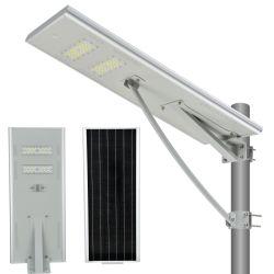 Calle la luz solar de 60W con control remoto completo de montaje de la columna de la leva de inundación