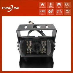 تصميم منخفض الحجم للطباعة بالألوان التلقائية على الساعة الخلفية باللون الأسود كاميرا شاحنة مقاومة للماء IR Night Vision