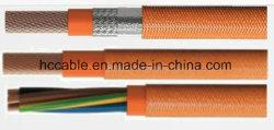 Aislante de caucho de silicona Sheild Cable para el vehículo eléctrico