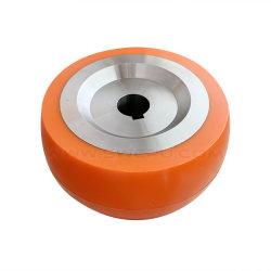 OEM en caoutchouc de silicone haute chaleur/roue à rouleaux en acier de PU