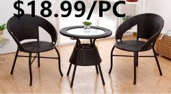 Respaldo alto de madera apilable moderno para la habitación del Hotel Comedor muebles de ratán Sillón Swing