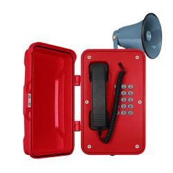 Vandal-Proof Wasserdichte Telefone VoIP Industrial SIP Phone