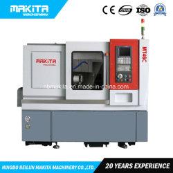 Mt46c 3軸線高いスピンドル速度の傾斜のベッドCNCの回転金属の切断の旋盤機械