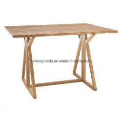 Exquisite 2-4 Parede Castanha do assento rebatível de Carvalho Dobrável mesa de jantar