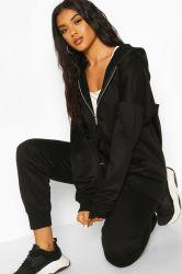 """حاكّة عمليّة بيع بيع بالجملة عامة نساء """"[س] [هوودي] نساء سائب عرضيّ لباس يرتدي رياضات أكبر من المعتاد رمز بريديّ كلّيّا سيئة [هوودي]"""