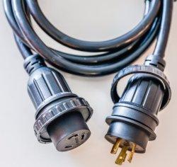 UL CSA RV gama de secadores Cordset Cable de alimentación Cable Industrial 30A con NEMA 10-30 p