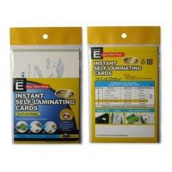プラスチック製インスタント自己ラミネートカード - 写真サイズ 114X164mm ( 4 インチ x6 インチ)