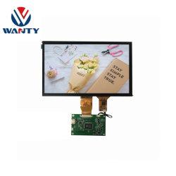 10.1 インチ GG USB P-cap 静電容量式タッチスクリーンパネル 1024 * 600 TFT IPS RGB LCD LCM Raspberry Pi 3 タッチディスプレイ