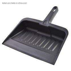 Dustpan enorme commerciale di plastica durevole resistente con la vaschetta della pala dello strumento di pulizia della spolverata della maniglia