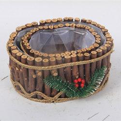 ハンドメイドの木の芸術木はクラフトのための木のギフトに乗る