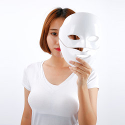 뷰티 스타 스킨 케어 LED 마스크(3색 Photon Electric Face LED Mask Acne Removal Skin Rejuation Facial SPA Salon)
