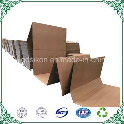E-Commerce Embalaje Z-Fold 3capas de cartón ondulado de cartón plegado en acordeón