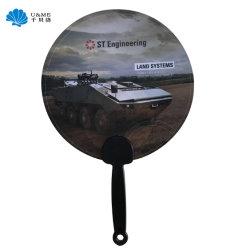Regalo promocional barato mano a mano de Plástico PP Ventilador de Promoción de plástico