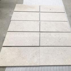 平板およびタイルのための磨かれたか、または砥石で研がれたか、または転落させたローマのクリームまたはベージュか極度の白いですか金Travertine