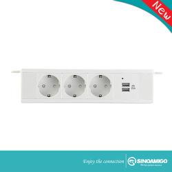 Conduta de fios elétricos da Canaleta de entroncamento de cabo de rede