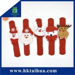 Weihnachtsgeschenk der Klaps-Armband-, Weihnachtsmann-, Schneemann-und Ren-Dekoration