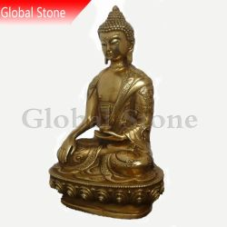 Están ajustadas estatua de Buda de bronce de fundición de esculturas (GSBR-903)