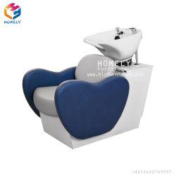 Cheap Champú rojo largo de la Unidad de lavado del asiento cama silla