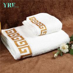 Hotel Cotton 10s Dobby listra colorida casa de banho toalhas de mão
