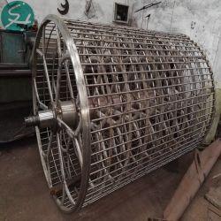 Cilindro de acero inoxidable del molde para fabricar pulpa de papel