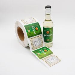 De douane Afgedrukte het Stempelen van de Folie van het Ontwerp Gouden Hete Verpakkende Etiketten van het Broodje
