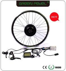 Greenpedel cubo de bicicleta Motor 48V 500W Kit de conversión eléctrica bicicleta kit de motor de cubo