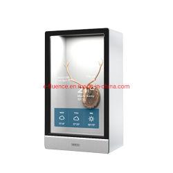 19-86 pouces Boîte d'affichage Transparent Transparent Affichage LCD avec affichage numérique et options d'utilisation conviviale