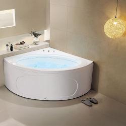 De moderne Elegante Acryl Enige Badkuip van de Hoek van de Schort van de Rok