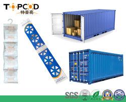 200% покрытия Rate висящих газа Pack Super Dry хлористый кальций контейнерных морских перевозок влагопоглотителя