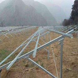 Масса блока канала Unistrut солнечные энергетические установки аккумулирования энергии клемма заземления станции стеллажа монтажа продукции
