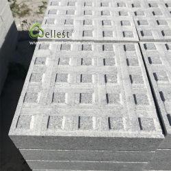 Pietra grigia fiammeggiata dei ciechi del granito di rivestimento per il passaggio pedonale