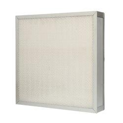 Filtre à air HEPA avec alliage en aluminium /Châssis extérieur en acier galvanisé pour l'atelier propre