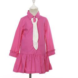 بنات [فوشسا] طويلة كم فصل خريف [كتّون شيرت] نوع ثياب