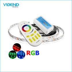 2.4G 4ゾーンの接触ボタンRGBのストリップLEDのコントローラ