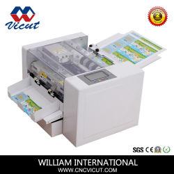 Alimentação automática do Cortador de cartão de visita de papel para fotografia de passaporte e cartão postal Cortar