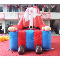 La navidad Santa Claus silla inflable personalizado