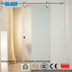 Vetro di corso della vita e diplomato di garanzia di sicurezza della doccia di vetro/acquazzone dello schermo del comitato