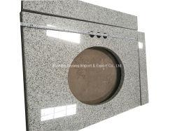 Chinês de granito Branco Polido Pedra Natural calcário/Sandstone/Travertinos/Granito para banheiro/Bancada/Vanitytop
