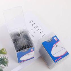Poignée courbée multicolore cure-dents Clos de la soie dentaire pics en plastique