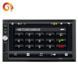 """Auto-radio 2 DIN 7"""" con pantalla táctil HD MP5 Reproductor de audio de coche a control remoto de la cámara de visión trasera"""