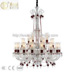 De nieuwe Lamp van de Kroonluchter van het Kristal van de Luxe van de Stijl Baroco voor de Hal van het Hotel (aq-20176-16+8+4)