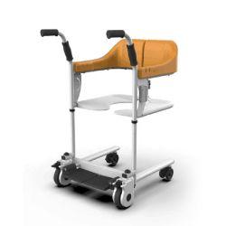 Equipamentos médicos dobrável multifunções a transferência do paciente com Commode cadeira do Assento