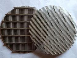 0.7mm Ss 편평한 쐐기(wedge) 철망 격판덮개
