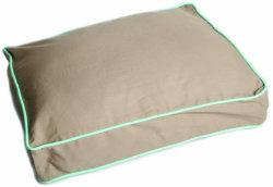 Cama de cão edredão cobrir - 100% algodão, durável, lavável